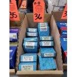 Lot 36 - Qty 14 - EBC bearings model 1633ZZ. New in boxes.