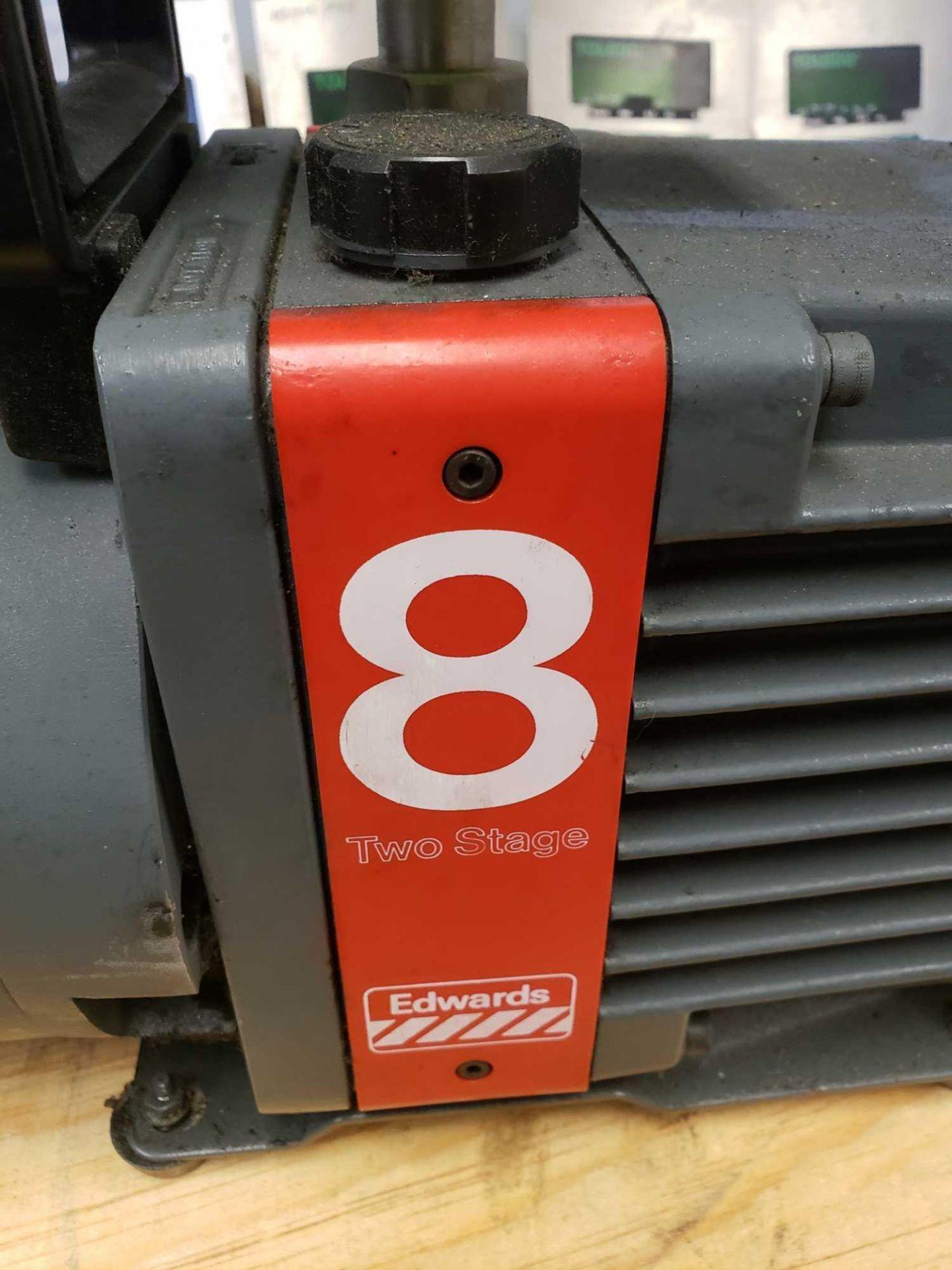 Lot 11 - Edwards High Vacuum Pump Model E2M9 single phase