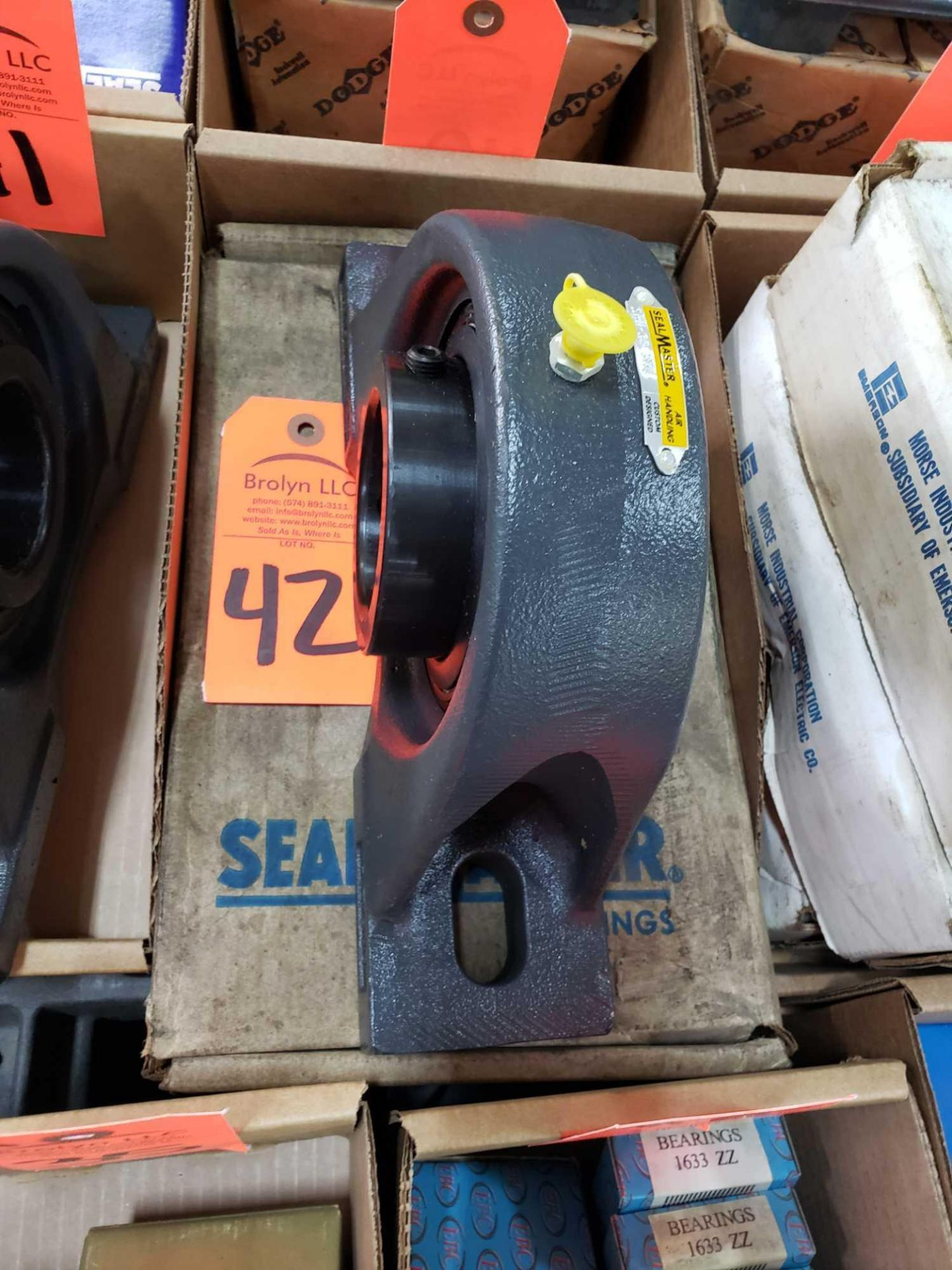 Lot 42 - Sealmaster Bearing model SPM-39CXM. New with box.