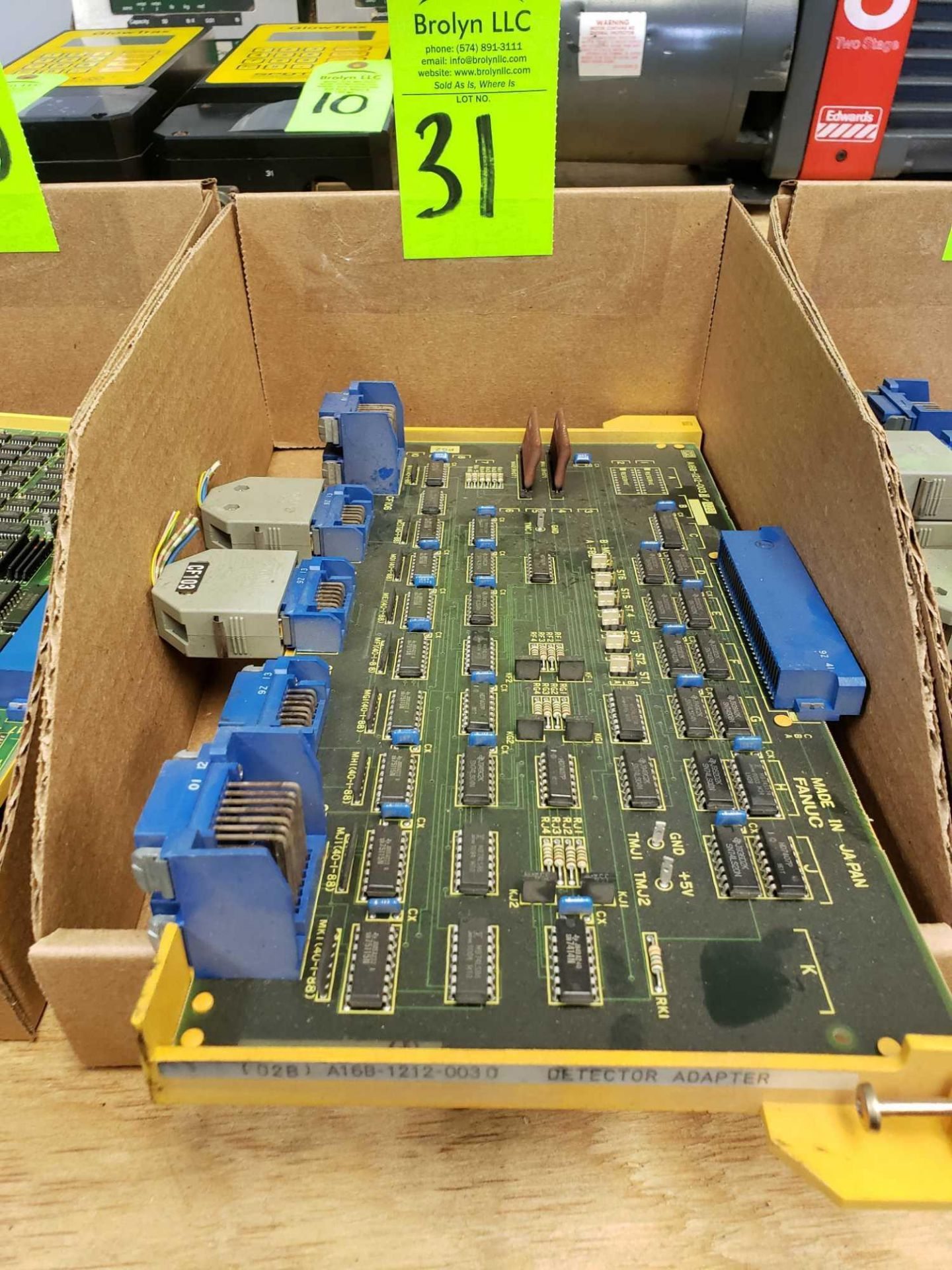 Lot 31 - Fanuc model A16B-1212-0030 control board