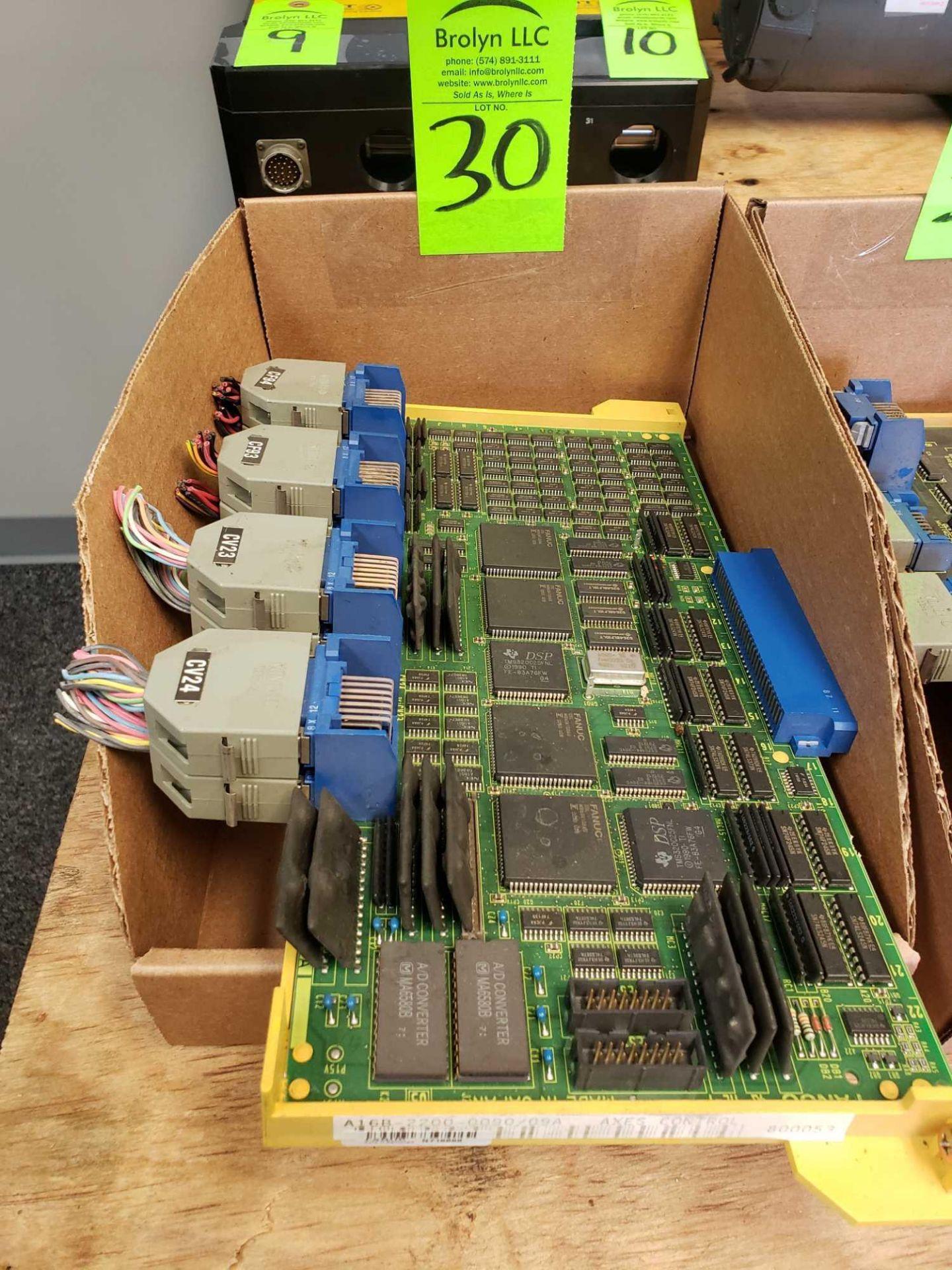 Lot 30 - Fanuc model A16B-2200-0090/09A Axes Control board