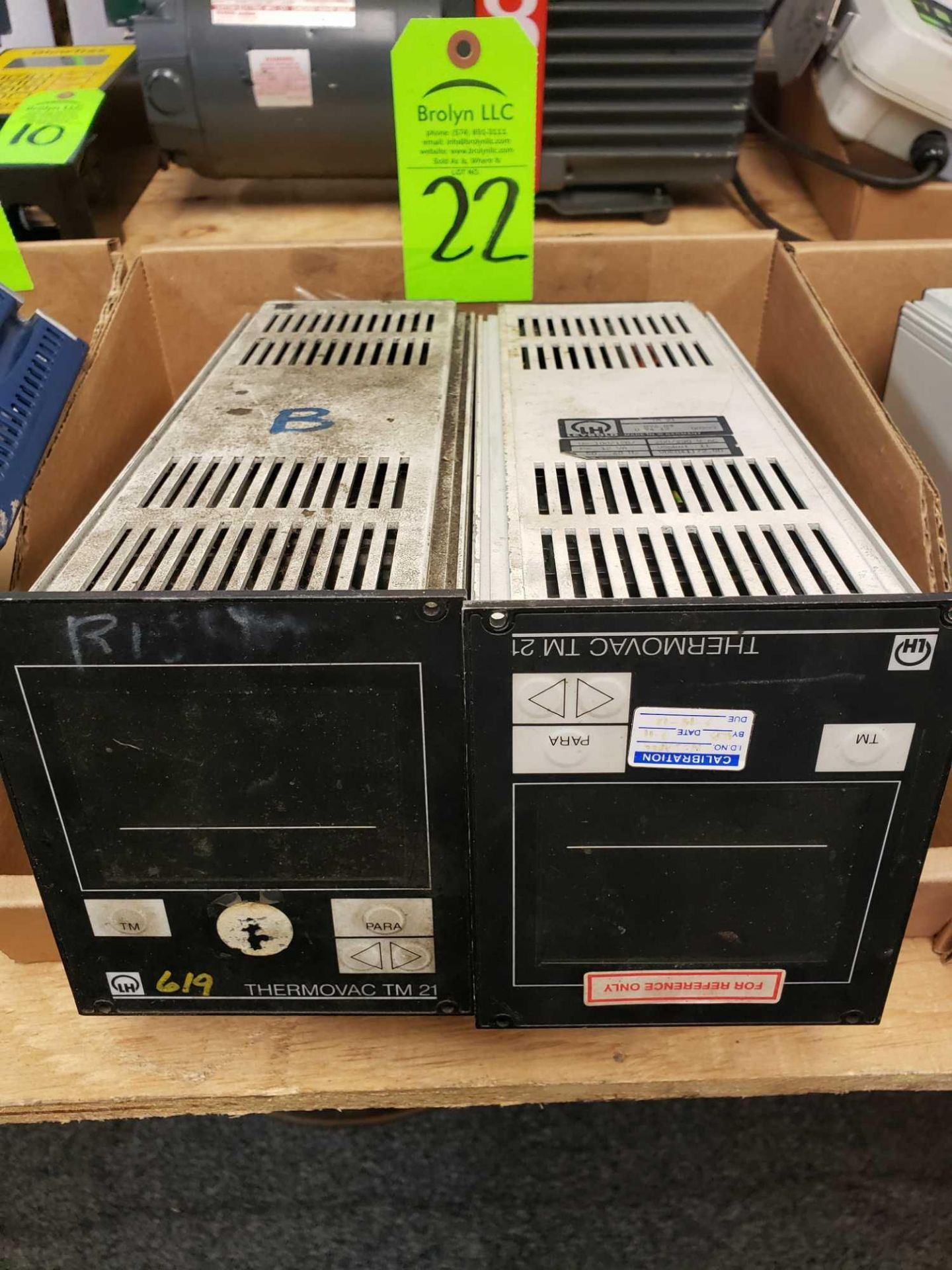 Lot 22 - Qty 2 - ThermoVac TM21 vacuum controller units