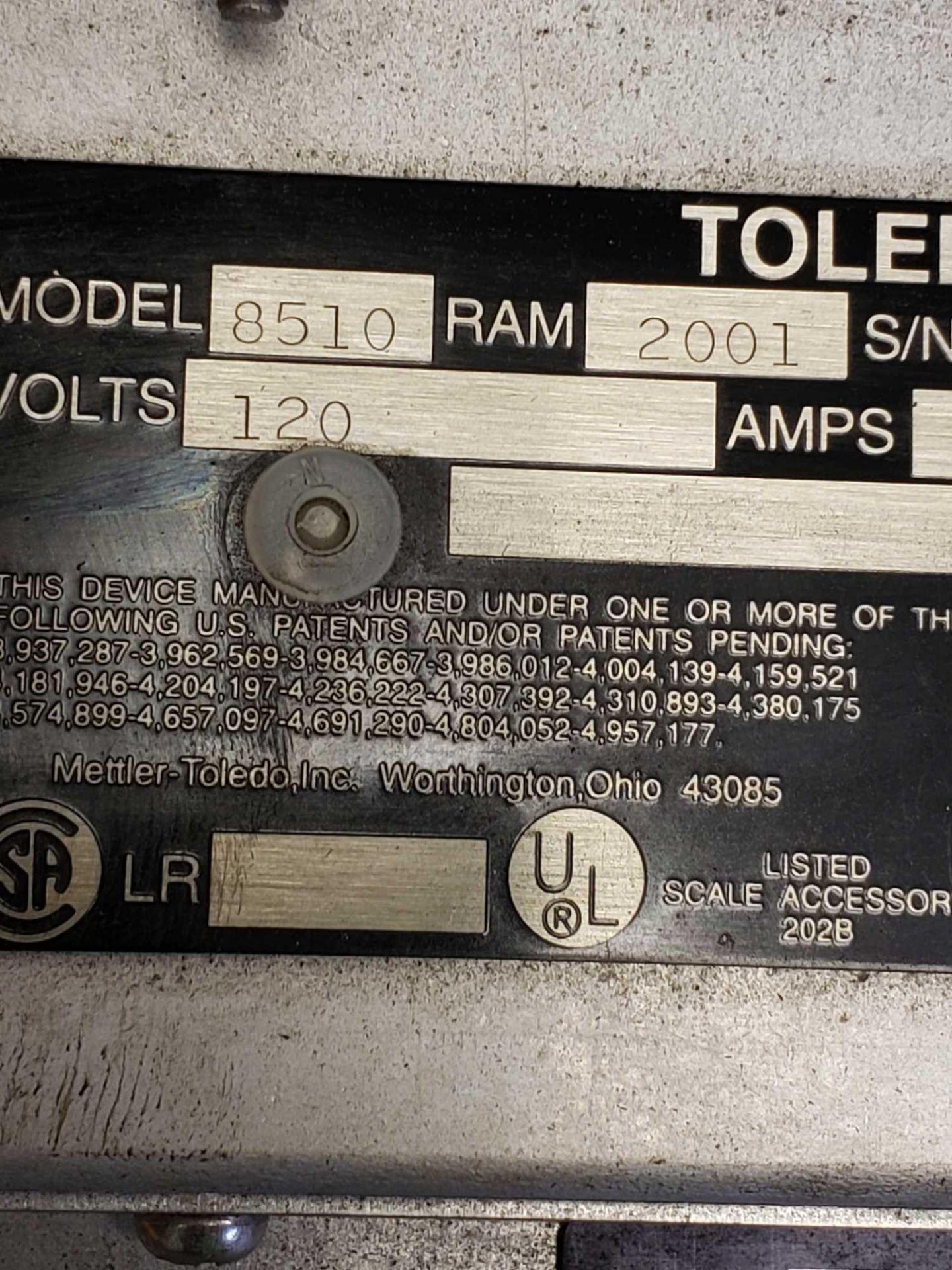 Lot 4 - Toledo scale display model 8510