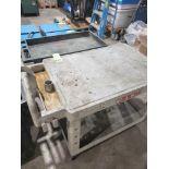 Lot 1064 - Qty 2 - Plastic carts, rubbermaid or similar brand