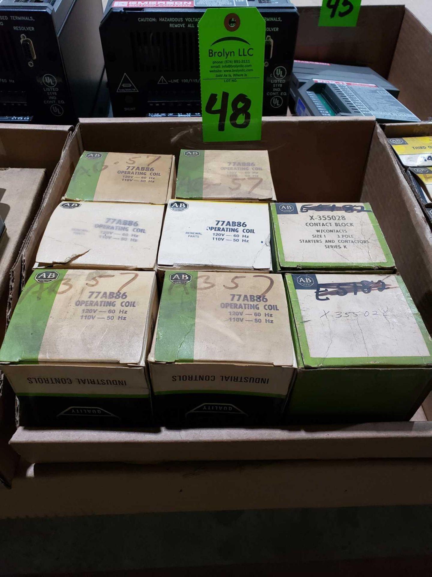 Lot 48 - Qty 8 - Allen Bradley model 77AB86. New in boxes.