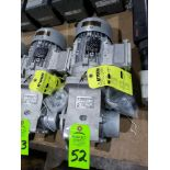 Lot 52 - Nord Systems 10.83:1 gearbox and motor. Type SK92172.1AMHD-80S/4CUS and SK80S/4CUS. NEW.
