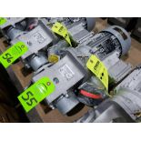Lot 55 - Nord Systems 10.83:1 gear box and motor. Type SK92172.1AMHD-80S/4CUS and SK80S/4CUS. NEW.