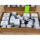 Lot 39 - Large Qty of Allen Bradley Contactors in assorted sizes and part numbers.