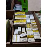 Lot 49 - Large Qty of assorted Allen Bradley parts. New in boxes.