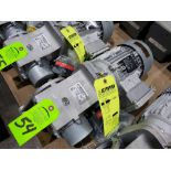 Lot 54 - Nord Systems 10.83:1 gear box and motor. Type SK92172.1AMHD-80S/4CUS and SK80S/4CUS. NEW.