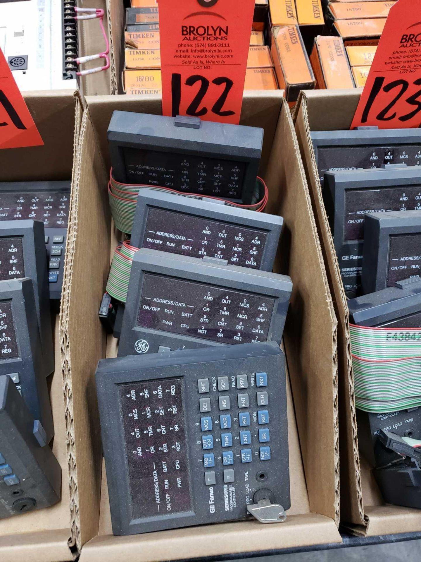 Lot 122 - Qty 4 - GE model IC610PRG105B controllers.