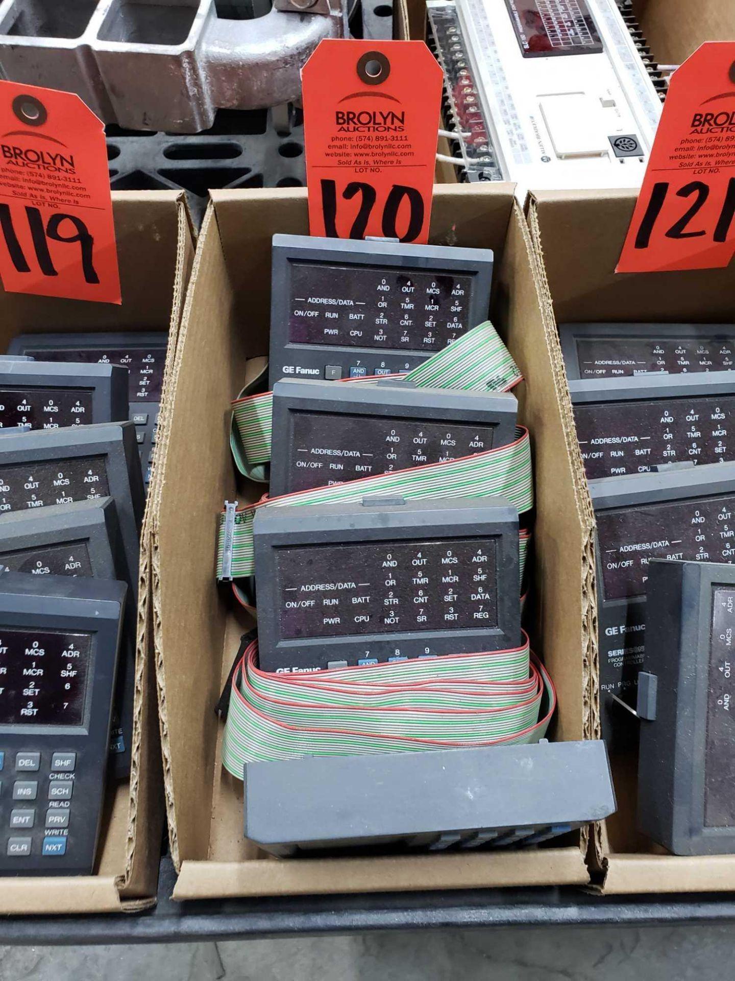 Lot 120 - Qty 4 - GE model IC610PRG105B controllers.
