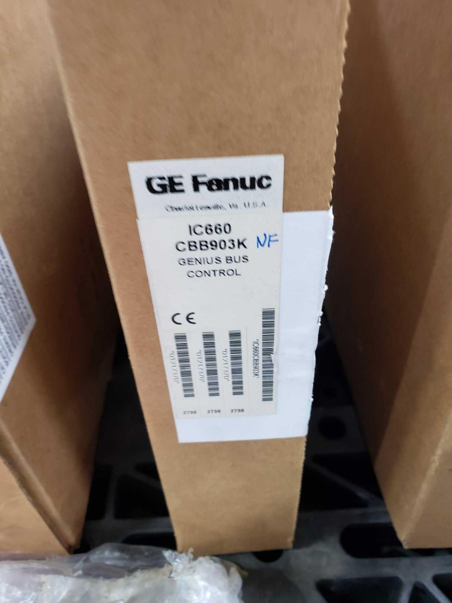 Lot 361 - GE Fanuc model IC660CBB903K genius bus control. New in open box.