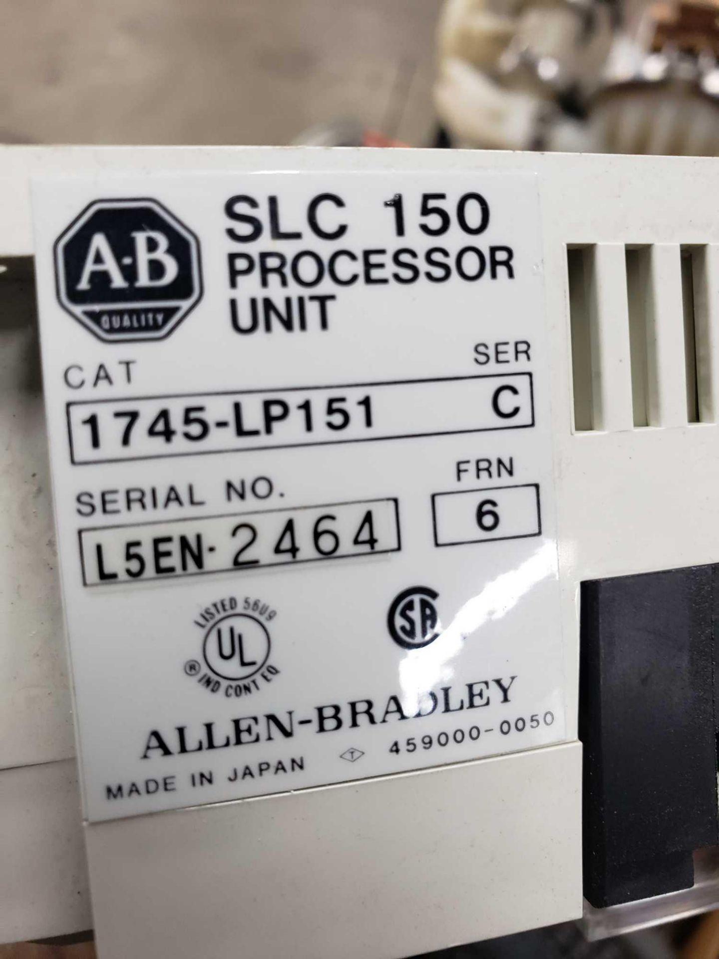 Lot 115 - Allen Bradley catalog 1745-LP151, SLC150 processor unit.