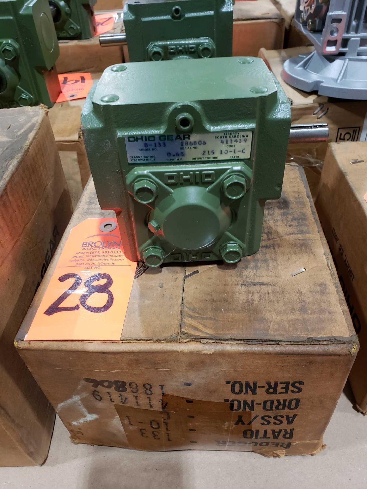 Lot 28 - Ohio Gear model B-133 gearbox. 10-1 C ratio. New in box.