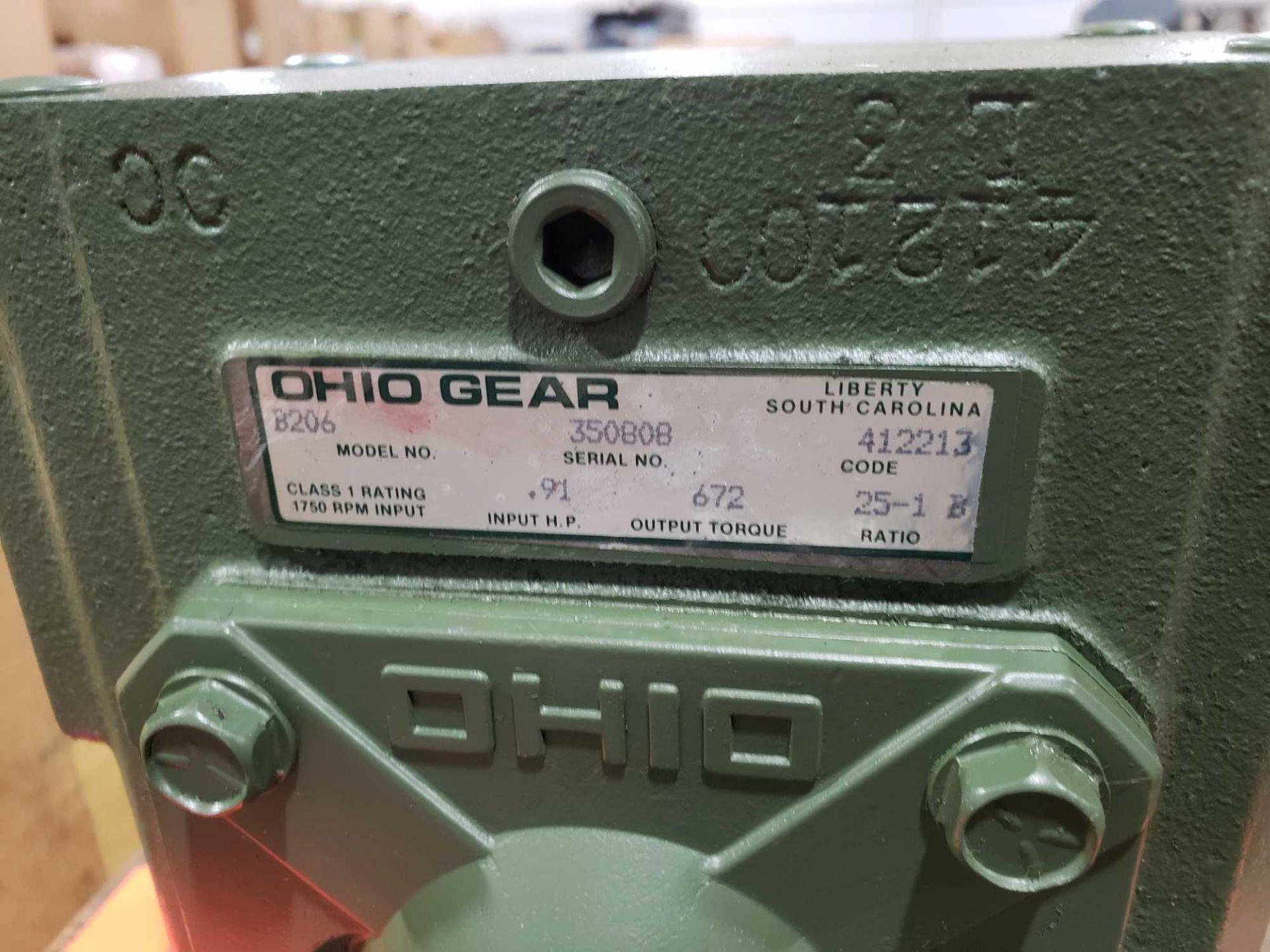 Lot 29 - Ohio Gear model B-206 gearbox. 25-1 C ratio. New in box.