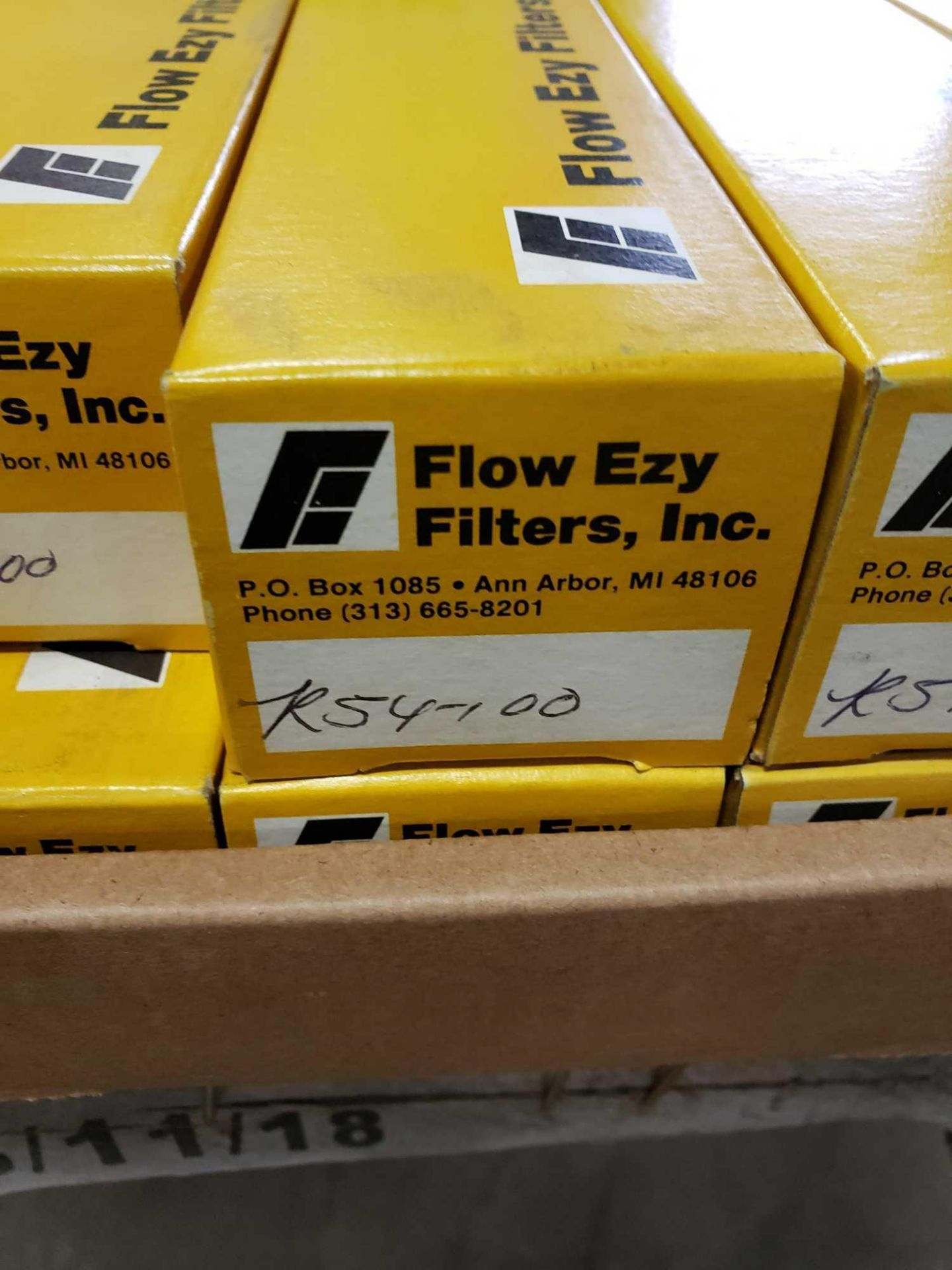 Lot 48 - Qty 10 - Flow Ezy Filters model R54-100 tank mounted strainer. New in box.