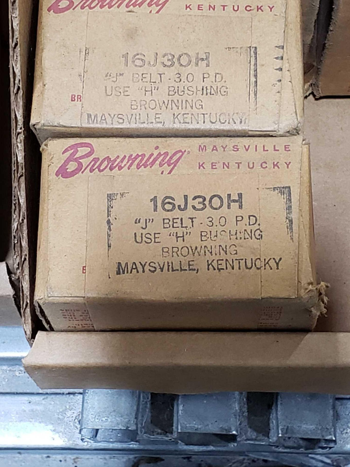 Lot 2 - Qty 6 - Browning part number 16J30H pulley. New in box.