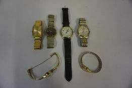 A Mixed Lot of Ladies and Gents Wristwatches, To include Timex and Pulsar examples, (9)