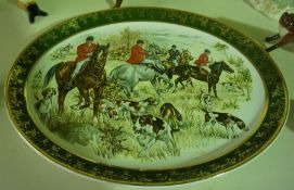 A Mixed Lot of Beswick and Royal Doulton Hunting Themed Porcelain Animal Figures, To include five