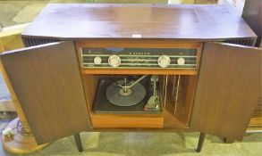 A Vintage Bush Radiogram, 74cm high, 90cm wide, 37cm deep