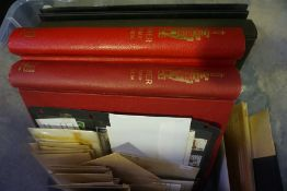 A Mixed Lot of Stamps and First Day Covers, To include two Tower stamp albums, two albums of first