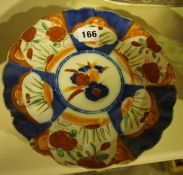 A Mixed Lot of Sundry Pottery and Glass, To include a Japanese imari plate, three silver overlaid
