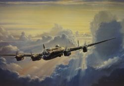 """Anthony Saunders """"Lancaster Dream"""" Signed Limited Edition Print, no 750 of 950, signed in pencil,"""