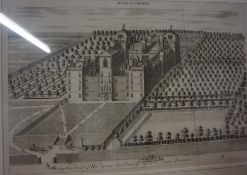 """""""Being the Seat of his Grace the Duke of Gordon near Aberdeen"""" Print of the former headquarters of"""