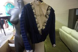 An Antique Ladies Embroidered Jacket, circa early 20th century, 51cm long, also with a quantity of