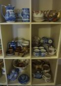 "A Quantity of Tea China and Pottery, To include a Royal Albert ""Mikado"" pattern tea set, also with"