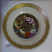 """The Hans Christian Andersen Plates"" Three Picture Plates by Royal Copenhagen, 19cm diameter, (3)"