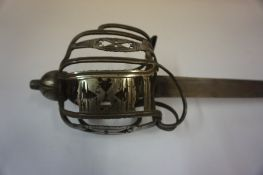 A Scottish Basket Hilt Broad Sword, circa late 17th / early 18th century, Probably a Horsemans