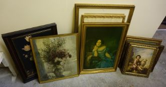 A Quantity of Prints and Pictures, (9)