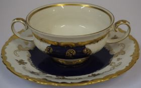 A Modern Ironstone Part Dinner and Tea Service, 54 pieces, also with a semi porcelain part dessert