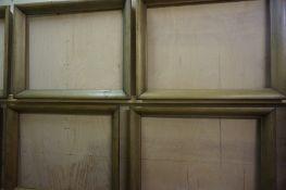 Eleven Similar Wooden Picture Frames, 45cm x 61cm, (11)
