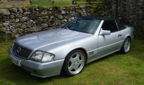 1990 Mercedes Benz 300SL R129 Convertible Chassis No: WDB1290602F014704 Engine No: 10398422001206