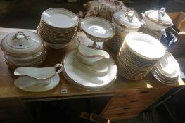 A French Porcelain Dinner Set, circa late 19th / early 20th century, to include tureens, serving