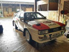 1983, Audi Quattro,Ur (original) Coupe, 2.2L, RR 20v, 6 Speed Manual Presented in original early 80s