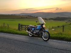 1976, BMW R60/6 Motorbike, tidy example in very good condition, tax and MOT exempt, 36,000 miles