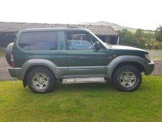 1997. Toyota Land Cruiser GX, SWB UK delivered, 3.0L Diesel, manual, 186000 miles, full service