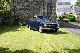 1972, Triumph Herald 13/60, Convertible, manual, Very tidy ready to drive away, midnight blue with