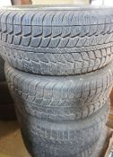 A Set of Four Himalaya WST Winter Tyres, for a BMW E39 5 Series, (4)