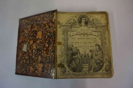 A Mixed Lot of Scottish Related Books, to include Burns,s Life & Works, circa 19th century, having a