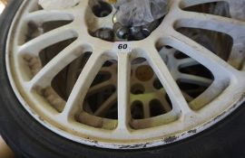 A Set of Four Ectsa SPT Tyres with Alloys, for a Toyota MR2, (4)