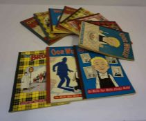 A Quantity of Oor Wullie and Broons Annuals, circa 1950s, 60s, 70s, 11 in totalCondition reportAge