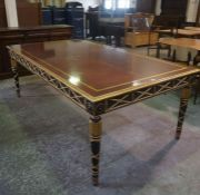 A Spanish Baroque Style Boardroom Table, would comfortably sit ten to twelve people, formerly used