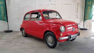1968 Fiat 600, RHD. Rare big brother to the Fiat 500. UK Delivered, ready for full restore, engine