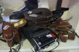 A Mixed Lot of Sundry Collectables, to include a pair of Vintage ice skates by Pinnacle, circa