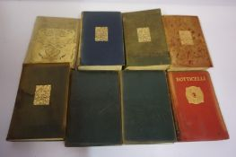 Mixed Lot of Leather Bound Books, circa late 19th / early 20th century, approximately 20 in total